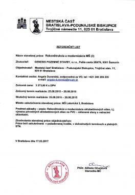 Referenčný list MČ Podunajské Biskupice (4)