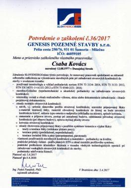 Slovenergo potvrdenie o zaškolení (1)