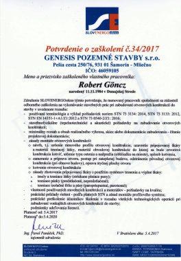 Slovenergo potvrdenie o zaškolení (3)