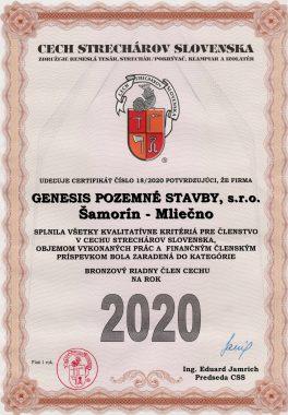 Cech strechárov 2020